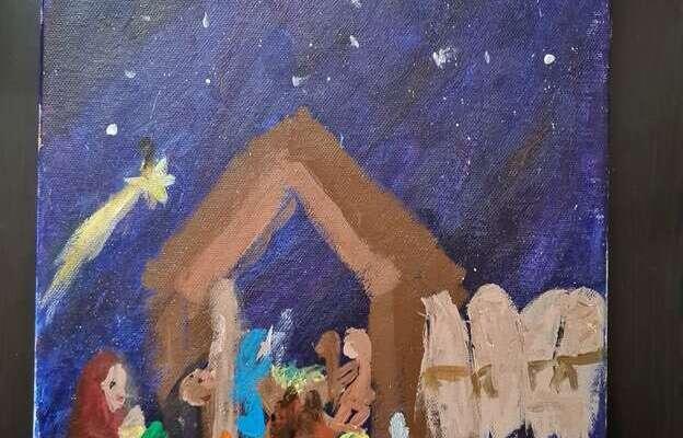 Zakodowane kartki świąteczne
